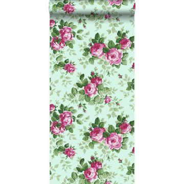 tapet rosor fältspat och rosa