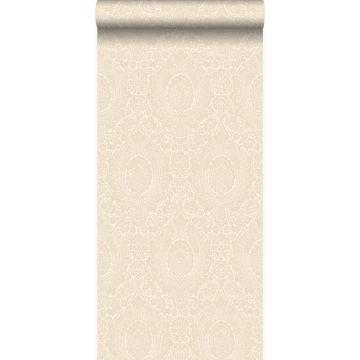tapet ornament antikvitt