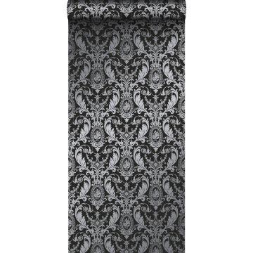 tapet ornament svart