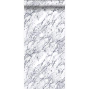 tapet marmor mörk elfenbensvitt