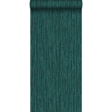tapet bambu smaragdgrönt
