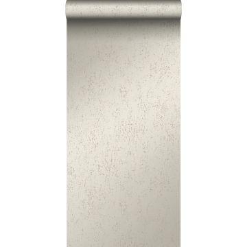 tapet metalleffekt varm silver