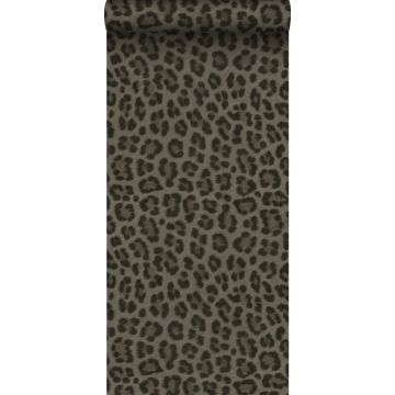 tapet leopardskinn mullvadsgrått