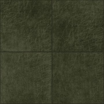 selvklæbende fliser øko-læder fyrkant olivgrönt