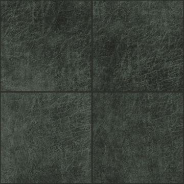 selvklæbende fliser øko-læder fyrkant antracitgrått