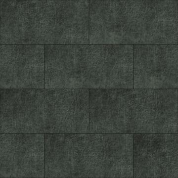 selvklæbende fliser øko-læder rektangel antracitgrått