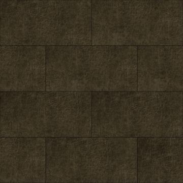 selvklæbende fliser øko-læder rektangel mörkbrunt