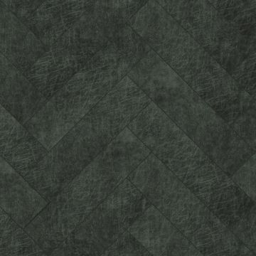 selvklæbende fliser øko-læder fiskbensmönster antracitgrått